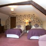 Twin Room, Easterside Farm, Hawnby