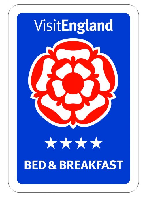 visit england 4 star Bed & Breakfast logo