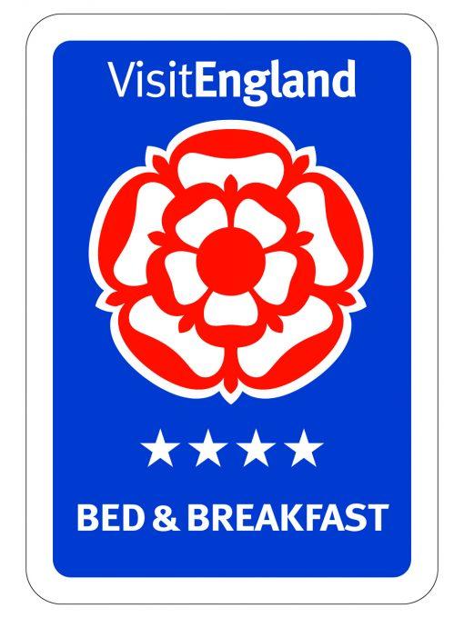visit england 4 star Bed & Breakfast logo